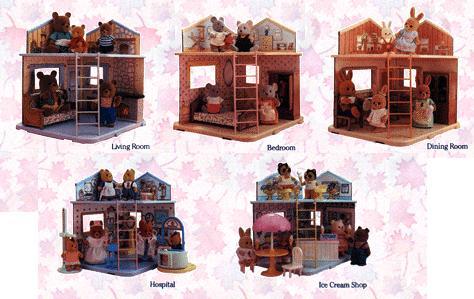 Les petits malins / MAPLE TOWN (Bandai) 1986 Maison12