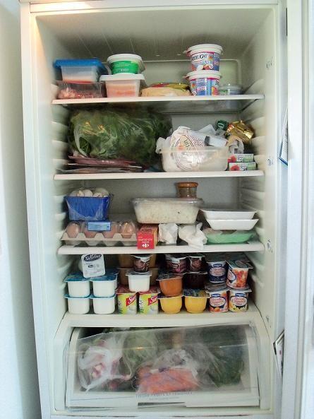 Là tout de suite, qu'y a-t-il dans votre frigo ? Frigo10
