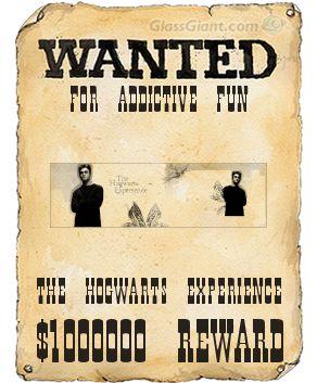 Hogwarts Experience Badge Wanted10