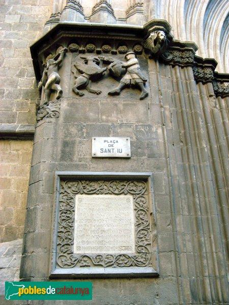 mensaje del rey Jaime en la catedral de Barcelona 00348010