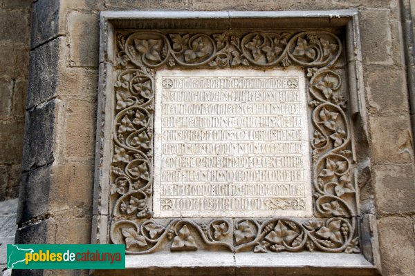 mensaje del rey Jaime en la catedral de Barcelona 03363210