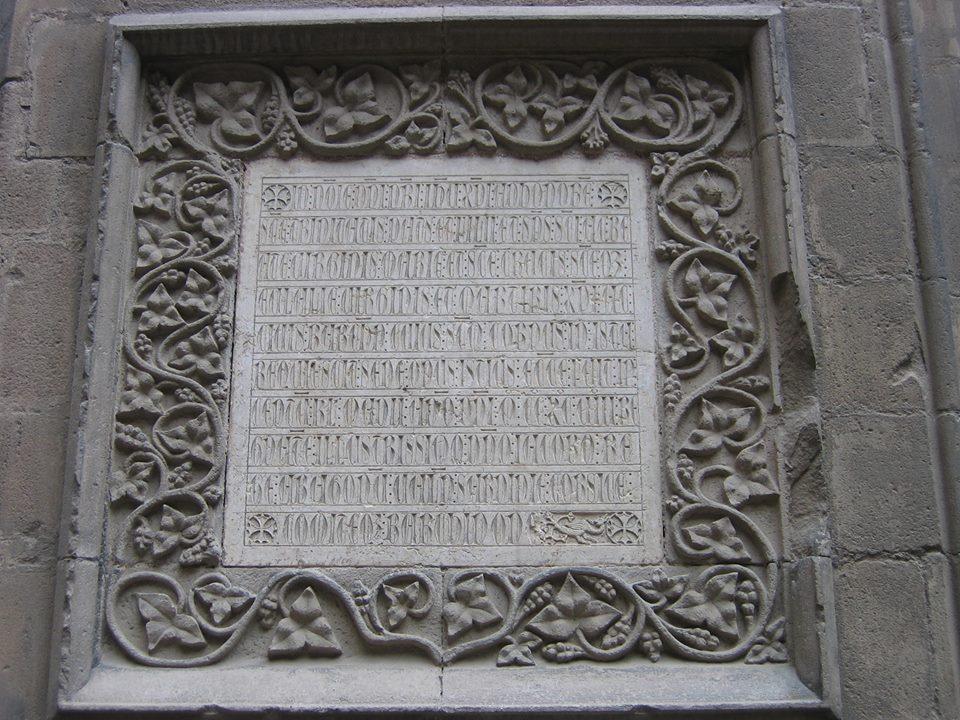 mensaje del rey Jaime en la catedral de Barcelona 33435210