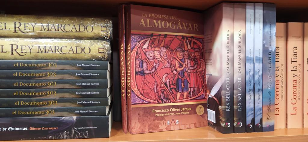 Ejemplares en las librerías Guarda10
