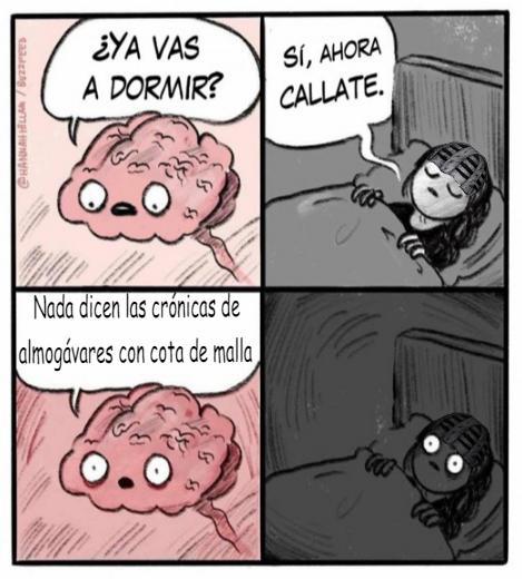 Los almogávares de LA ROCA EN EL MAR Meme10