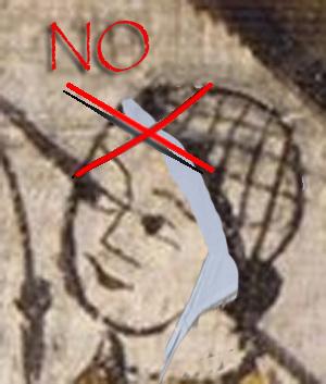 Crespina suelta/cofia atada No10