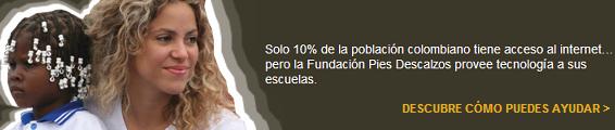 ::El mejor sitio de Shakira en Argentina:: - Portal Fpd1010