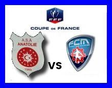 [CDF] 6ème tour : Anatolie Mulhouse / FCM Anatol11