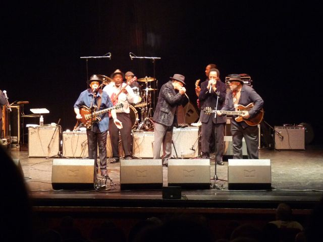 Chicago blues Living History : Biarritz 19/11/2011 Bandco10