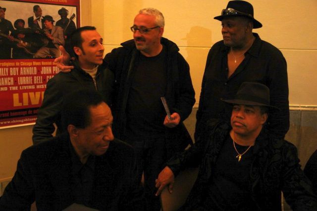 Chicago blues Living History : Biarritz 19/11/2011 Dedica10