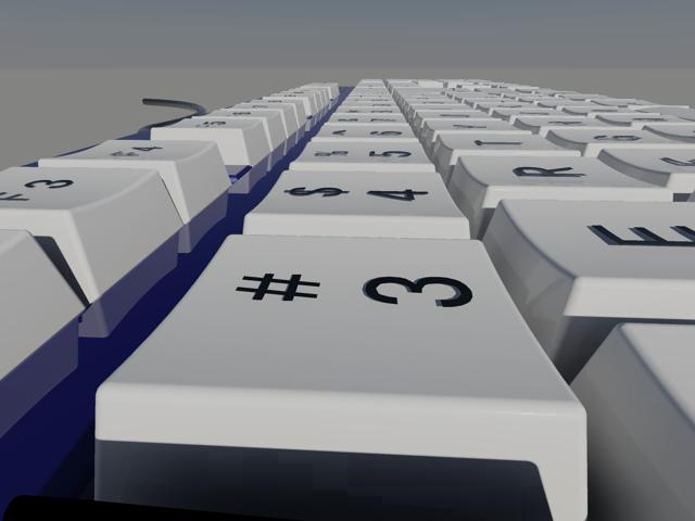 [分享]鍵盤建模,並上傳檔案 0310