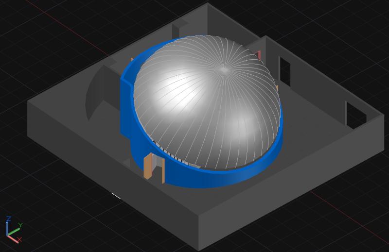 [作品]第一次作3D星象館   212