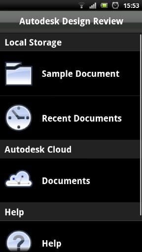 Autodesk 360 線上及智慧型設備-DWF檢視 A00510