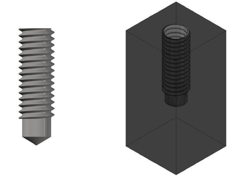 [討論]請問一下這題的內螺紋孔要怎麼畫? Caaezc10