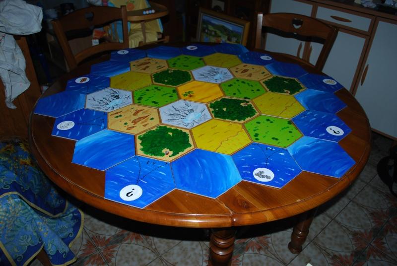 """repas thème """"jeux de société"""" pour l'anniversaire de mon mar Table_10"""