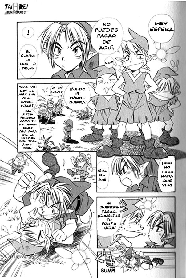 COMIC: Zelda: Ocarina of Time Zeldao15