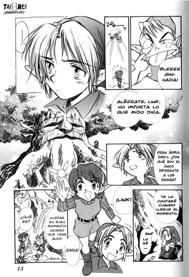 COMIC: Zelda: Ocarina of Time Zeldao17
