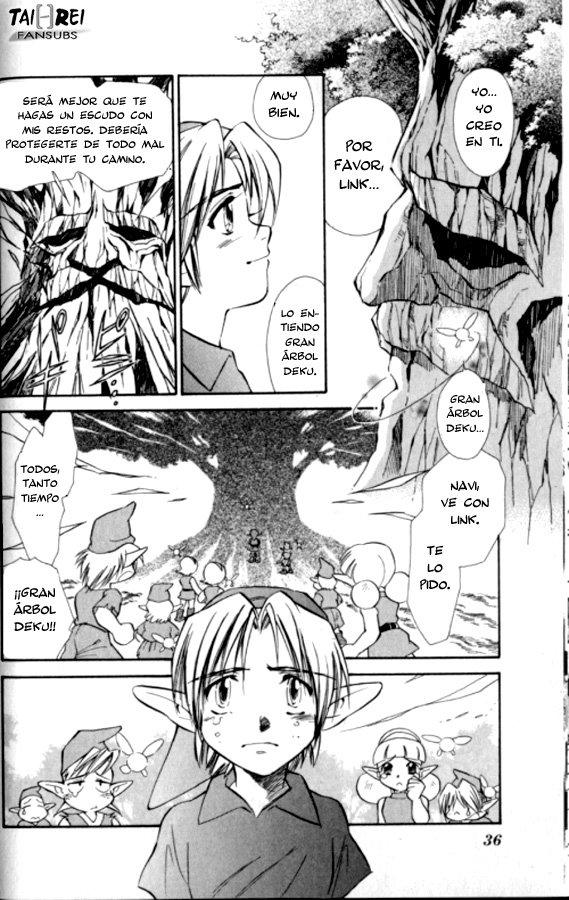 COMIC: Zelda: Ocarina of Time (2ª parte) Zeldao40