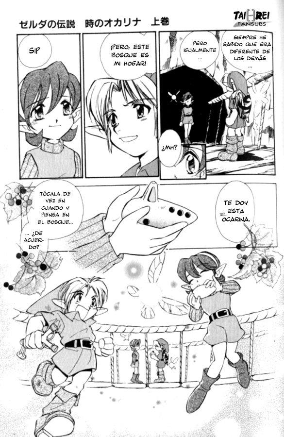 COMIC: Zelda: Ocarina of Time (2ª parte) Zeldao43