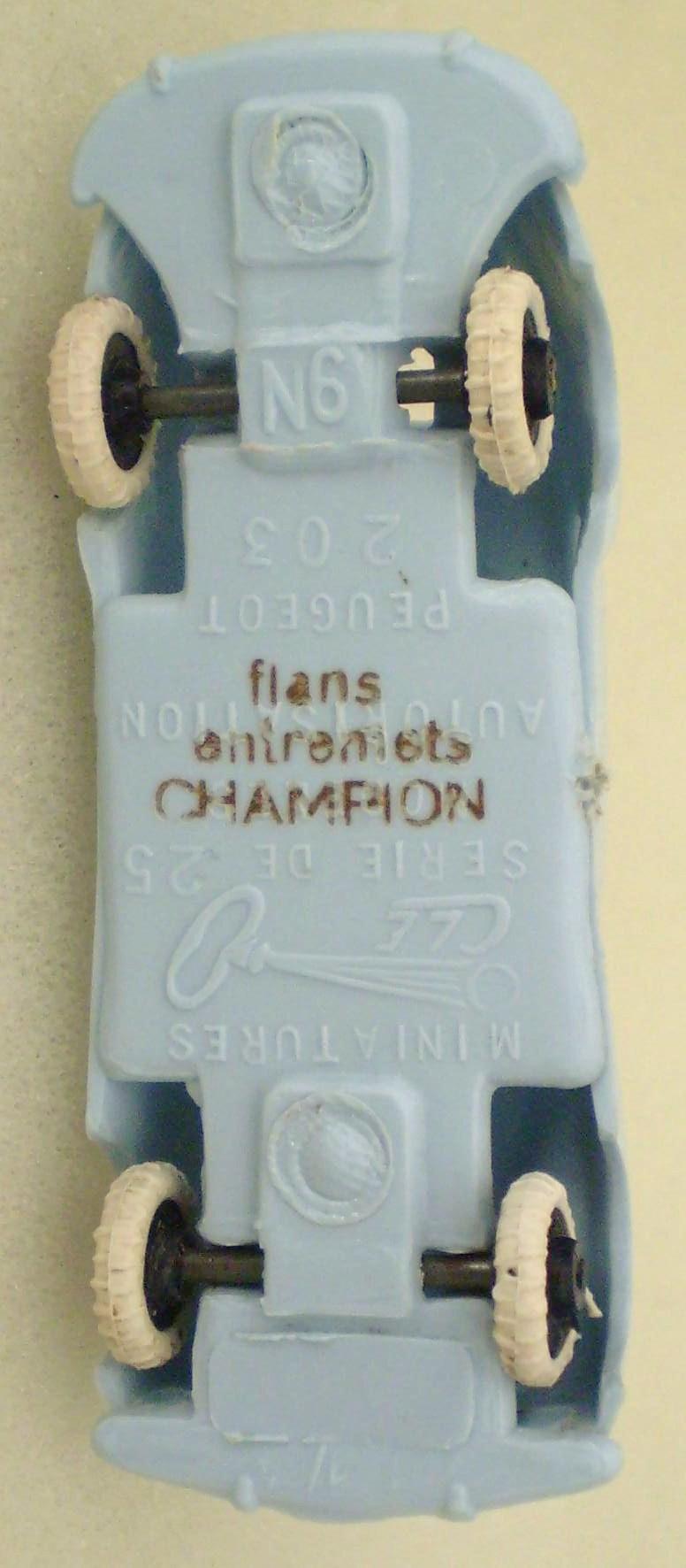 flans entremets CHAMPION Cle-6412