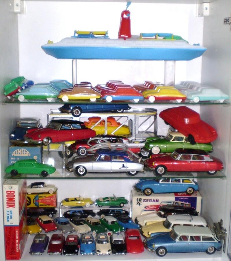 Ma collection DS en vitrine (à fin juillet 2008) Vitrin40