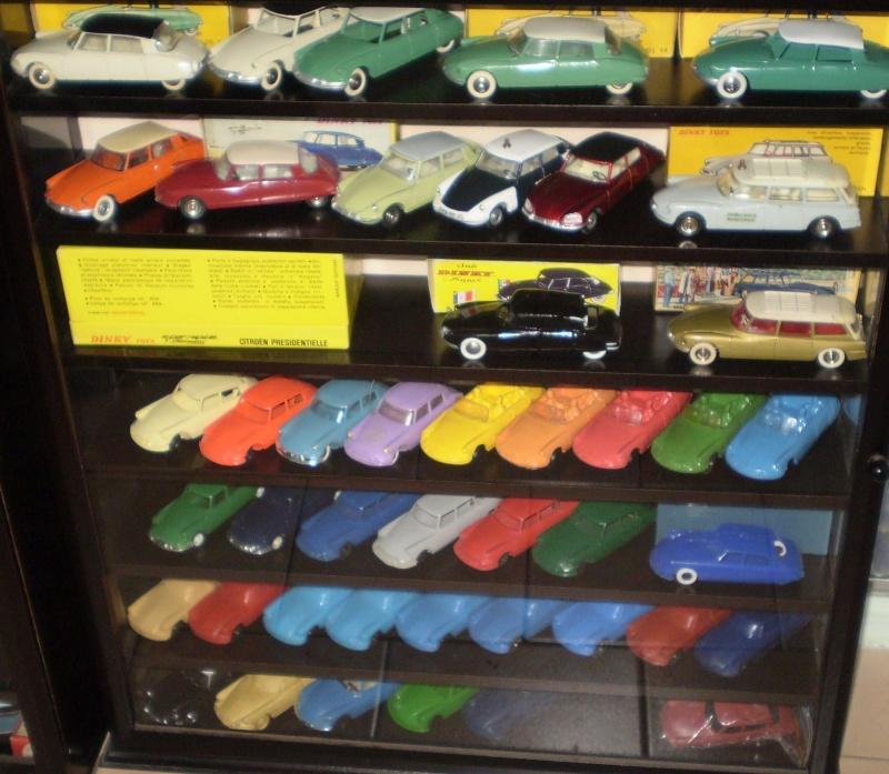 Ma collection DS en vitrine (à fin juillet 2008) Vitrin54