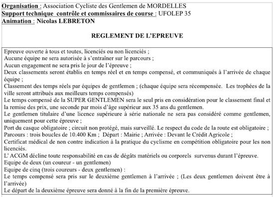 Gentlemen de Mordelles: 09/10/2011 Gentle12