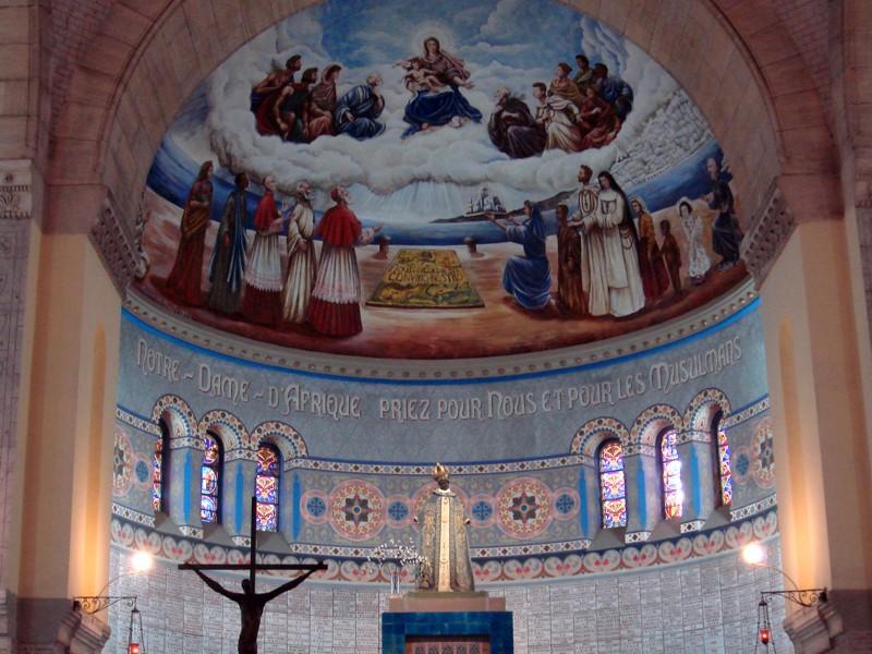 Notre Dame d'Afrique, Alger, Algérie Afriqu11