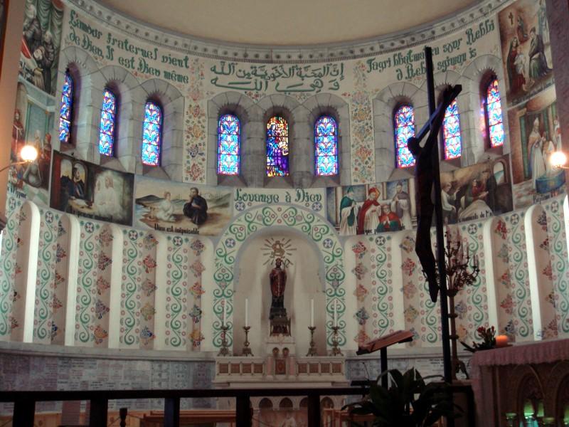 Notre Dame d'Afrique, Alger, Algérie Afriqu12