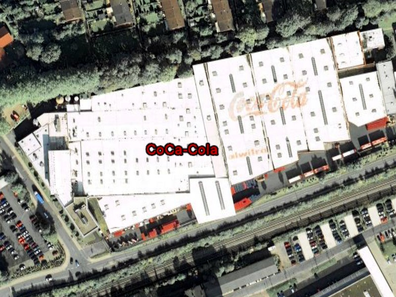 Coca Cola sur Google Earth Coca110