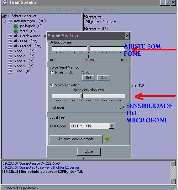 Team Speak  Server  TS ( saiba como usar) Imagem21