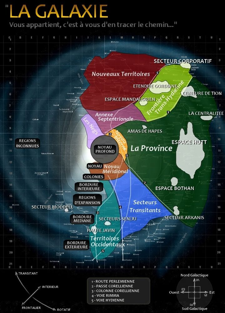Cartographie Galaxy10