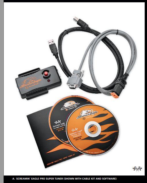 Présentation du Screamin' Eagle Pro Super Tuner  ou  SEPST Sepst110