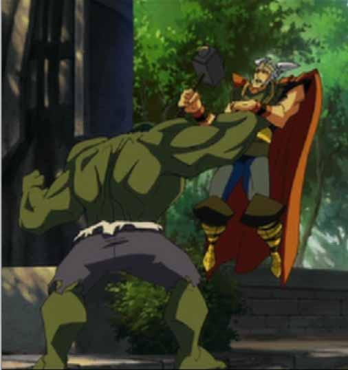 Primeras imágenes de Hulk vs. Thor Hulkth10