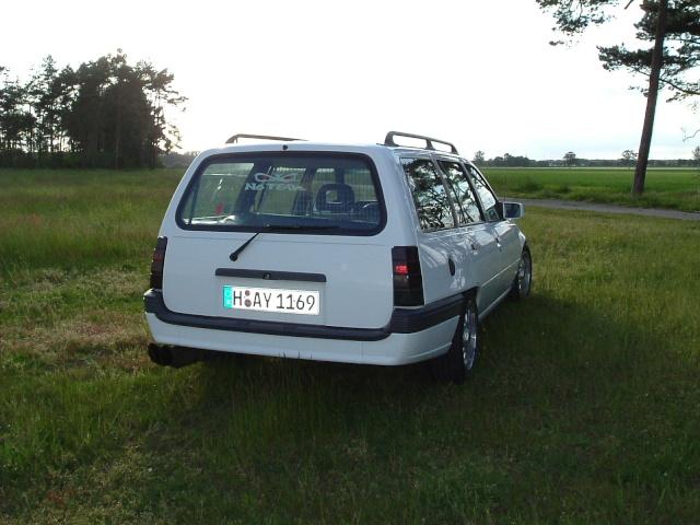 Der Opelmaus ihr alter Kaddy (Kadett E Caravan ) Dscf0013