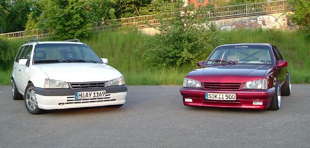 Der Opelmaus ihr alter Kaddy (Kadett E Caravan ) Kaddya10