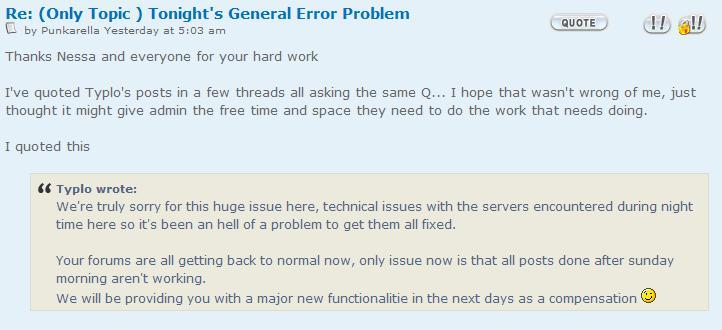 Deleted posts... Forum glitch. Error10