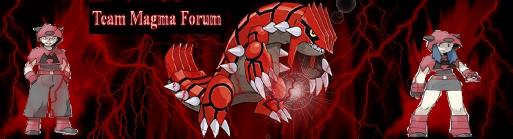 We Are The Best Team. The Only Choice. Team Magma - Portal Team_m23