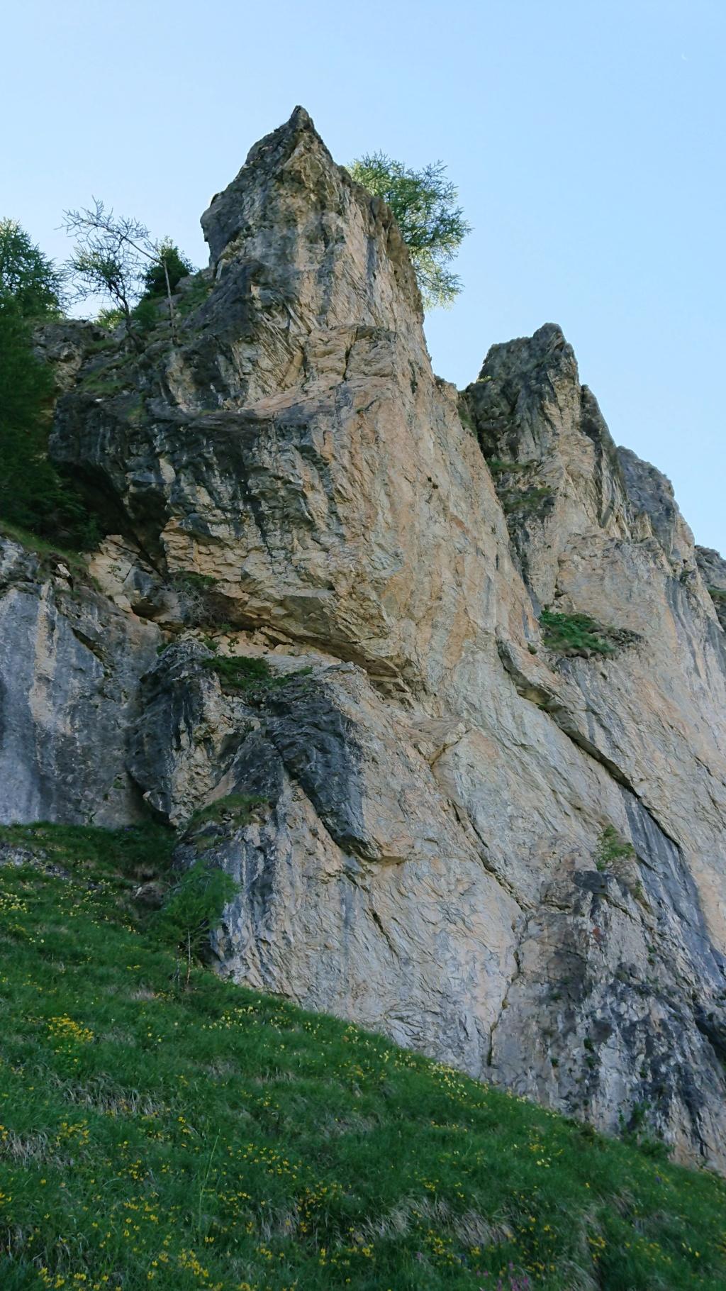 L'Alpage de la Davie depuis Le Chevril 01410