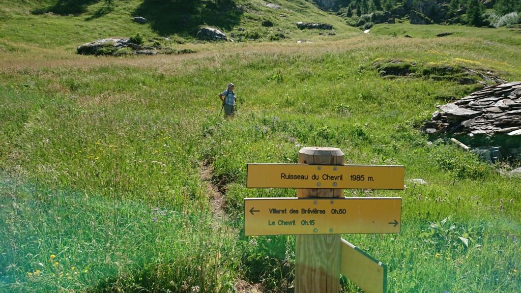 L'Alpage de la Davie depuis Le Chevril 02410