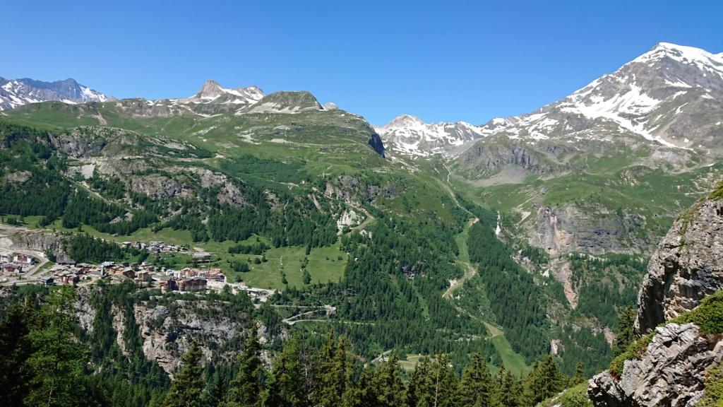 L'Alpage de la Davie depuis Le Chevril 02610