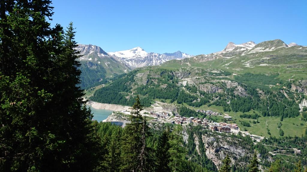 L'Alpage de la Davie depuis Le Chevril 02710