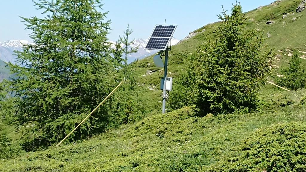L'Alpage de la Davie depuis Le Chevril 05110