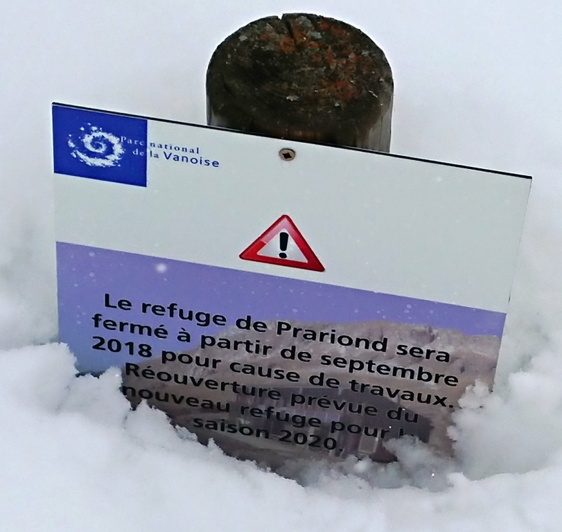 [Val d'Isère] Fermeture du Refuge du Prariond Dsc_0023