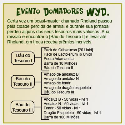 Evento Domadores do WYD Evento11