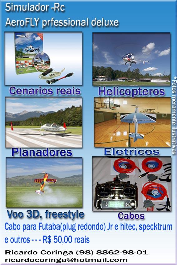 Cabo para simuladores R$50,00 ou Trainer R$ 30,00 todos os radios........ Pp10