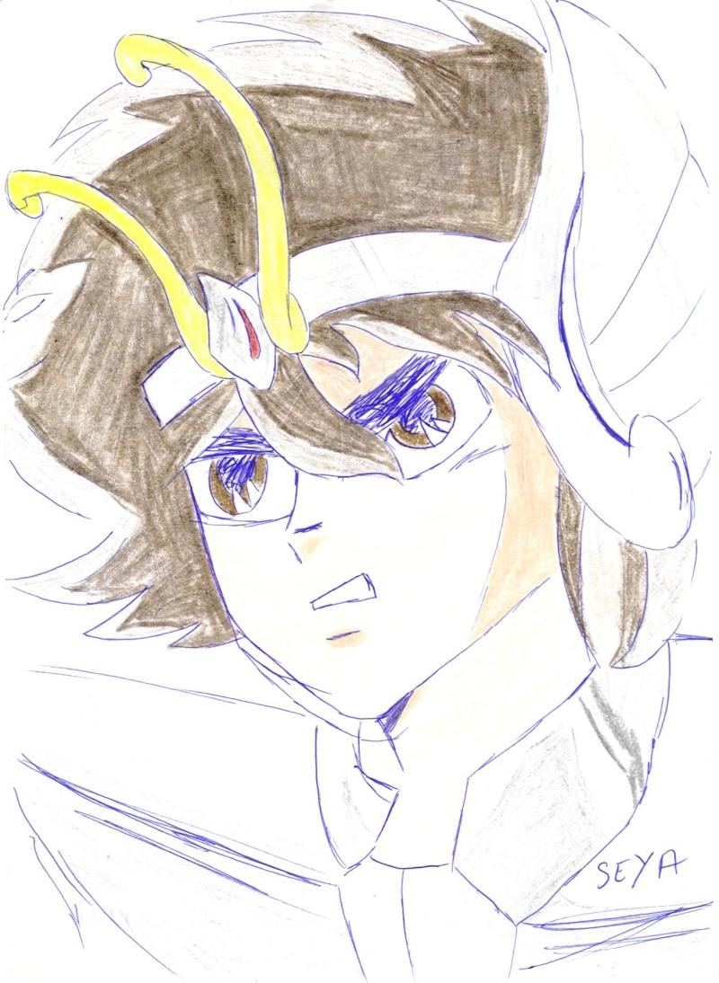 sandsliver's drawings Seiya10