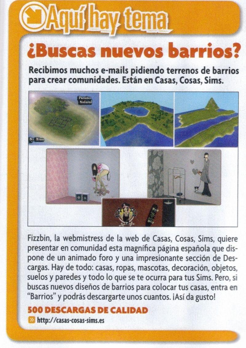 Revista Oficial de los Sims 2 500-de10