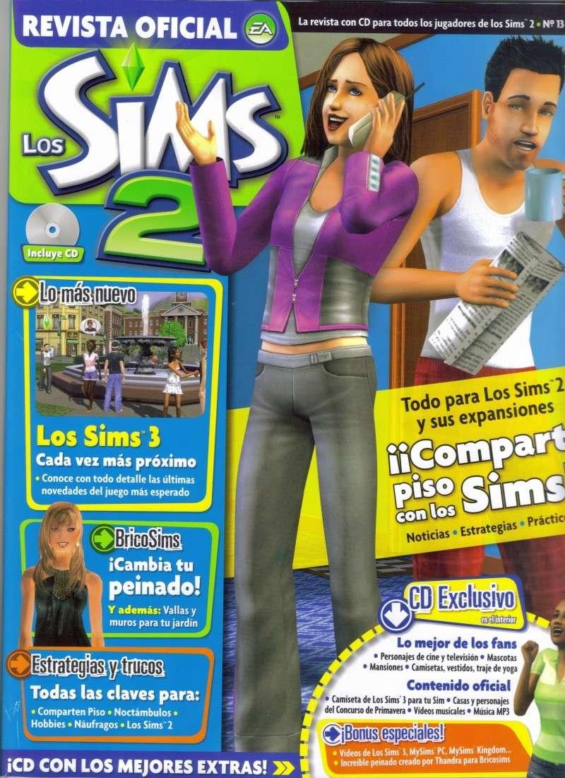 Revista Oficial de los Sims 2 Portad11