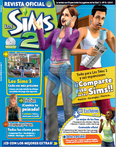 Revista Oficial de los Sims 2 Revist10