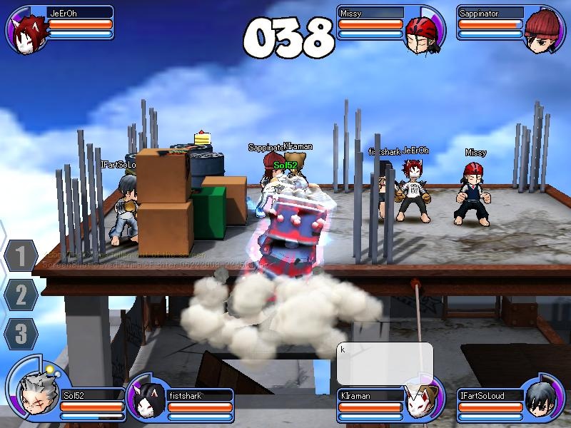 rumble fighter Rumble11
